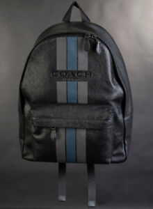 Coach Leather Backpack - New
