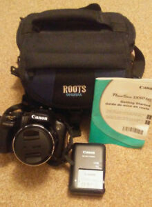 Canon PowerShot SX50 HS with Camera Bag (Like New)