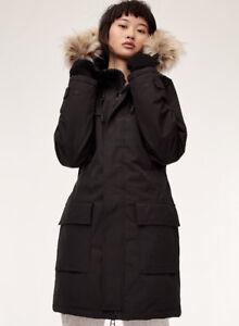 2013 TNA Bancroft Parka in Black XS 10/10 condition