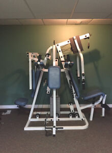 Continental Systems VIP, Multi-Station home gym