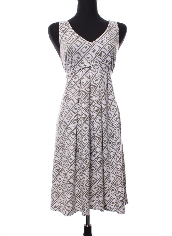 Sleeveless Side-Tie Maxi Dress by A Pea in the Pod