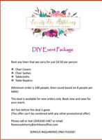 DIY EVENT PACKAGE