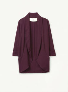 Wilfred Chevalier Jacket/Blazer (Purple, 00) - Great Condition