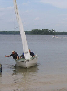 Sailboat Wayfarer fast boat to sail or race