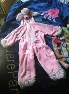 Girls Poodle Costume Brand New