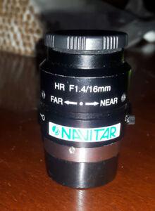 NAVITAR  HR F1.4/16mm
