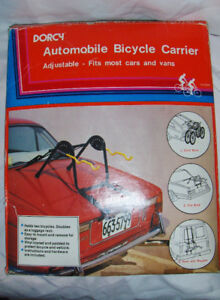 bike carrier for cars/vans, can carry two bikes