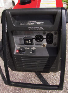 honda generator 3000 watt  handi quiet running easy to move