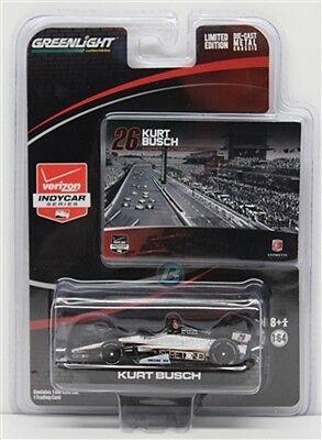 Kurt Busch Car - GREENLIGHT INDY DIECAST KURT BUSCH # 26 DALLARA HONDA 1/64 INDY CAR