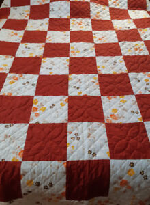 Large home made quilt