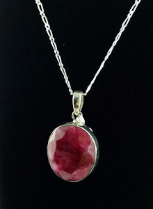 Brand New Ruby Necklace