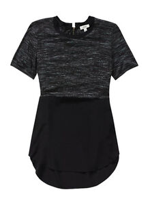 size small / Wilfred SILK capucine t-shirt top / black aritzia