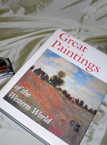 """Great Paintings of the Western World"" Huge Book"