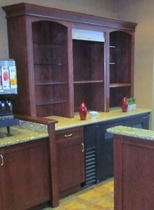Bar with Granite Counter & Hutch - Beautiful - Nice Pieces Cambridge Kitchener Area image 9