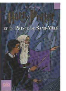 HARRY POTTER (FRENCH) #1, 2, 3, 7