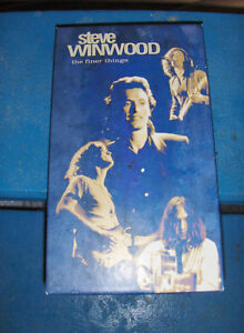 Steve Winwood The Finer Things - 4  Box Set 1995 with booklet