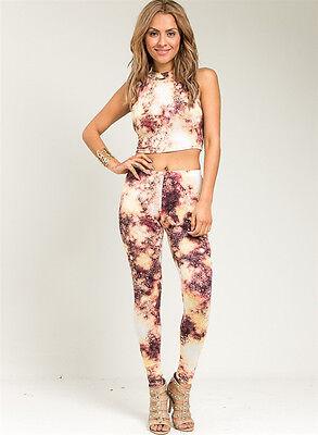 set top pant print outfit clubwear woman outfit leggings Jumpsuit catsuit