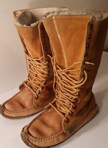 Mens mocassin , Maurienne, Made in canada, T.9