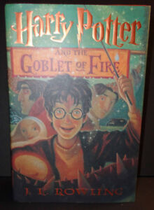 HARRY POTTER 1st Edition 2000 GOBLET OF FIRE
