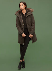 Winter Coat // TNA Avoriaz Parka in Dark Olive