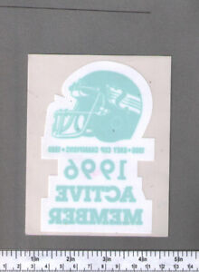 WTB: Saskatchewan Roughriders Stickers / Decals