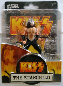 Kiss The Starchild Paul Stanley Collector Figurine Super Stars 2