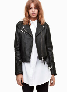 MACKAGE RUMER LEATHER JACKET ARITZIA - XXS
