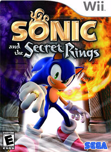 BRAND NEW!SEALED! ORIGINAL- WII SONIC AND THE SECRET RING