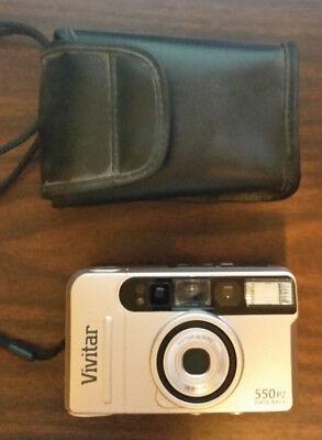 Vivitar 550PZ Data Back 35m Film Camera with Case