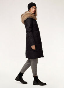 Women's - Aritzia St. Moritz Winter Parka - XS - Black - $300