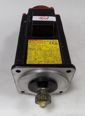 Fanuc Ac Servo Motor 2.5a 90v 3phase A13000 A06b-0371-b175