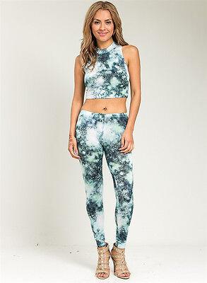 set top pant print outfit clubwear woman outfits leggings Jumpsuit catsuit