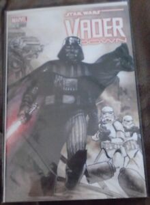 Star Wars Vader Down Comic book variant cover
