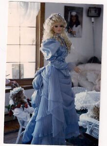 Porcelane Doll, 43 inches tall