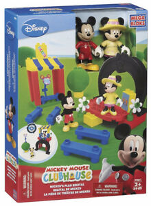Mega bloks mickey mouse clubhouse