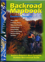 4 Backroad Mapbooks - Ontario Outdoor Recreation Guides