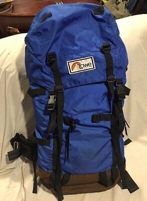 Lowe Alpine Systems Internal Frame Hiking   Camping Backpack 34 X15    Excellent
