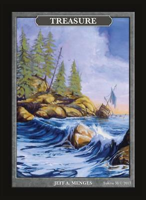 (Treasure Token Custom art by Magic Artist Jeff A. Menges Limited print Token #38)