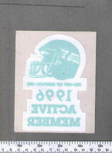 WTB: Wanted to Buy - Saskatchewan Roughriders Decals / Stickers