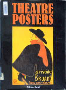 THEATRE POSTERS book  1st edition
