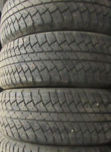 4 good used tires 18 inch=P255=70=18===70-75% Tread Remaining