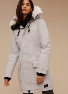 Golden by Tna BANCROFT PARKA - Ice White - size Small