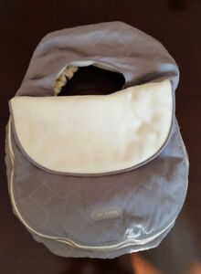 Car seat cover and warm stroller insert