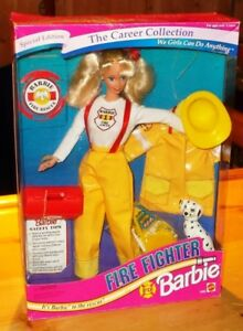 1994  SPECIAL  EDITION  FIRE  FIGHTER  BARBIE  DOLL