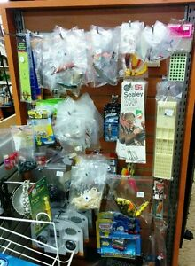 Fishing Lures, Rods and Reels, Accessories New and Used