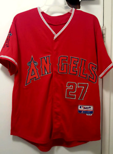 ○●○Like new Authentic Mike Trout Anaheim Angel Jersey size 50○●○
