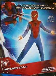 Costume d'halloween Spider Man NEUF