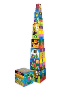 New Melissa and Doug Nest and Stack ABC Blocks