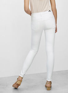 CITIZENS OF HUMANITY Rocket High-Rise Skinny Jeans (White)