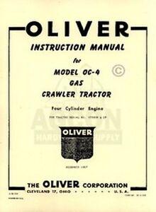 Oliver-OC-4-OC-Crawler-Tractor-Operators-Service-Manual